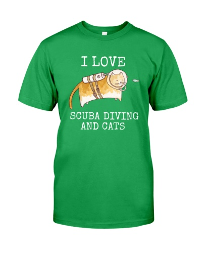 SCUBA DIVING Cat Love