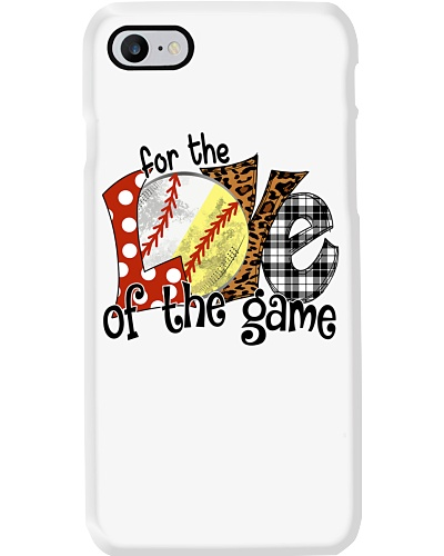 SOFTBALL For The Love Of The Game