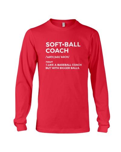 SOFTBALL Softball Coach Definition