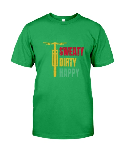 MOUNTAIN BIKING   Sweaty Dirty Happy
