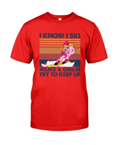 SKIING I Ski Like A Girl