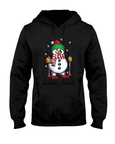 SKIING   Skiing Snowman