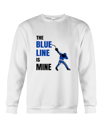 HOCKEY    The Blue Line Is Mine