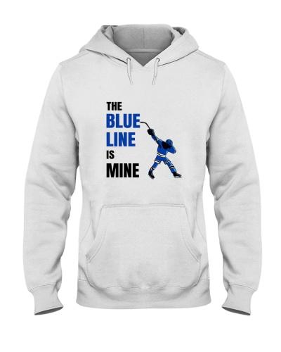 HOCKEY    The Blue Line Is Mine