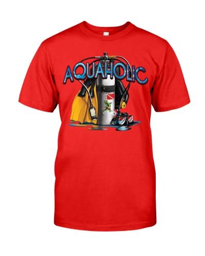 SCUBA DIVING Aquaholic