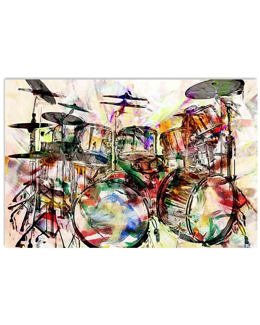 DRUM Poster Art Rock and Roll 36x24 Poster