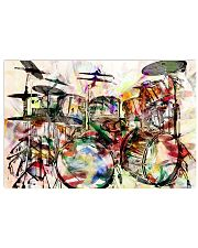 DRUM Poster Art Rock and Roll 36x24 Poster front