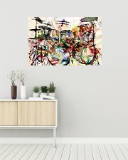 DRUM Poster Art Rock and Roll 36x24 Poster poster-landscape-36x24-lifestyle-01