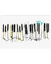 PIANO Poster Collage Art 36x24 Poster front