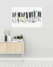 PIANO Poster Collage Art 36x24 Poster poster-landscape-36x24-lifestyle-01