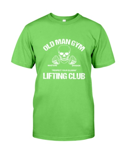 WEIGHT LIFTING Old Man Gym