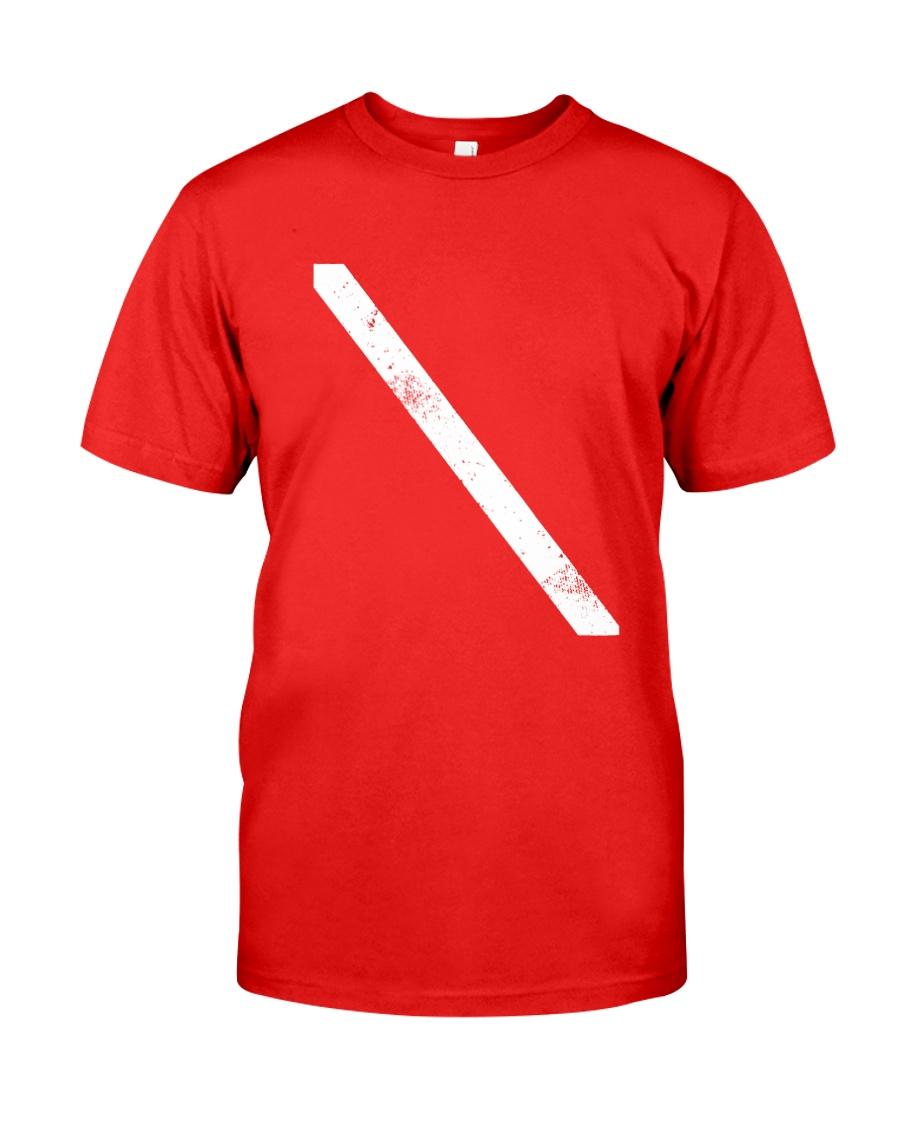 SCUBA DIVING Diver Down Flag Classic T-Shirt
