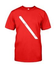 SCUBA DIVING Diver Down Flag Classic T-Shirt front