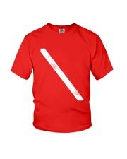 SCUBA DIVING Diver Down Flag Youth T-Shirt thumbnail