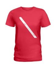 SCUBA DIVING Diver Down Flag Ladies T-Shirt thumbnail