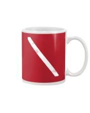 SCUBA DIVING Diver Down Flag Mug thumbnail