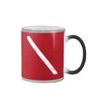 SCUBA DIVING Diver Down Flag Color Changing Mug thumbnail
