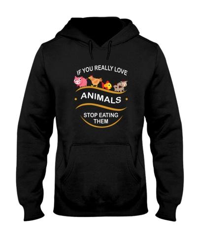 VEGAN   If you really love animals