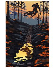 MOUNTAIN BIKING Sunset On The Mountain Bike 24x36 Poster front
