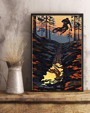 MOUNTAIN BIKING Sunset On The Mountain Bike 24x36 Poster lifestyle-poster-3