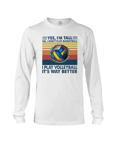 VOLLEYBALL   Yes I'm Tall