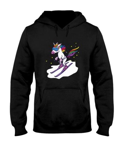SKIING   Skiing Unicorn Short