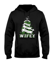 Who needs SANTA when you have Wifey Hooded Sweatshirt front