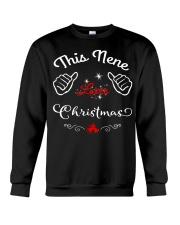 This nene loves Christmas Crewneck Sweatshirt thumbnail