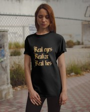 The Real Eyes T-Shirt by Wild Toons  Classic T-Shirt apparel-classic-tshirt-lifestyle-18