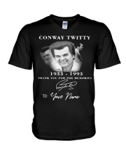 conway twitty V-Neck T-Shirt thumbnail