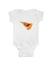 Pizza T-shirt For kids and babies Onesie front