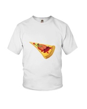 Pizza T-shirt For kids and babies Youth T-Shirt thumbnail