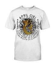April Girl The Soul Of A Mermaid Classic T-Shirt tile