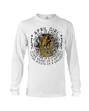 April Girl The Soul Of A Mermaid Long Sleeve Tee tile