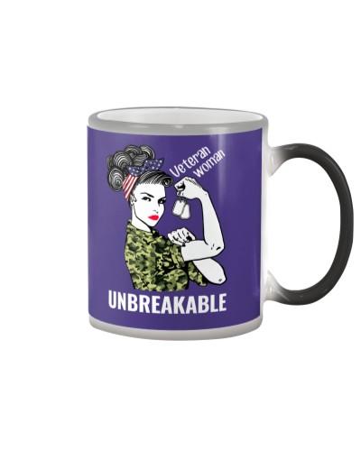 Woman Unbreakable Veteran