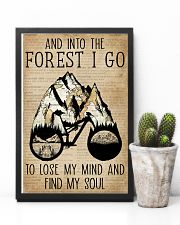 Dictionary Vintage Map And Into The Forest Cycling 11x17 Poster lifestyle-poster-8