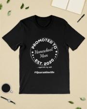 Quarantined Homeschool Mom Gift Classic T-Shirt lifestyle-mens-crewneck-front-19