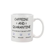 Caffeine and Quarantine Mug front