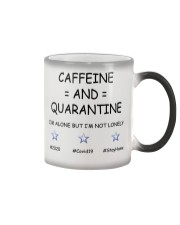 Caffeine and Quarantine Color Changing Mug thumbnail
