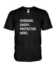Fathers Day Gift Funny Shirt V-Neck T-Shirt thumbnail