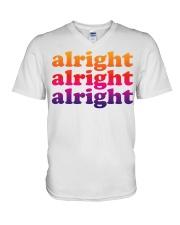 alright  V-Neck T-Shirt thumbnail