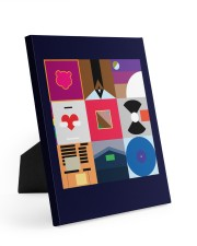 Inspired Poster 8x10 Easel-Back Gallery Wrapped Canvas thumbnail