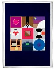 """Inspired Poster Small Fleece Blanket - 30"""" x 40"""" thumbnail"""