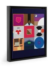 Inspired Poster 11x14 Black Floating Framed Canvas Prints thumbnail