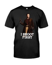 Nathan Fillion Classic T-Shirt front