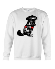 Home is where my chin is Crewneck Sweatshirt thumbnail