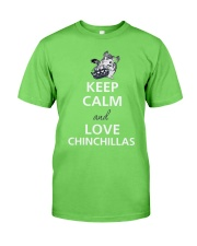 keep calm and love Classic T-Shirt thumbnail