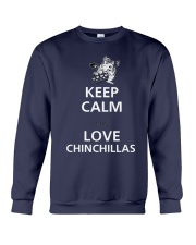 keep calm and love Crewneck Sweatshirt thumbnail