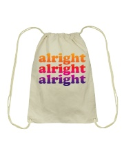 alright  Drawstring Bag tile