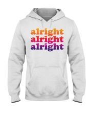 alright  Hooded Sweatshirt tile
